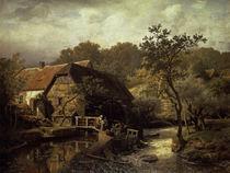 A.Achenbach,Westfaelische Wassermuehle1863 von AKG  Images