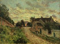 A.Sisley, Un chemin a Louvecienne von AKG  Images