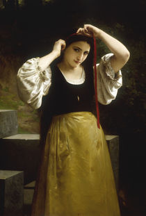 W.A.Bouguereau, Laendliche Toilette by AKG  Images