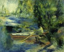 A.Renoir, Am Ufer eines Flusslaufes von AKG  Images