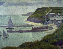 G.Seurat, Port en  Bessin, avant port by AKG  Images