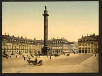 Paris, Place Vendome / Photochrom by AKG  Images