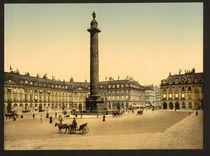 Paris, Place Vendome / Photochrom von AKG  Images