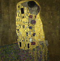 G.Klimt, Der Kuss by AKG  Images