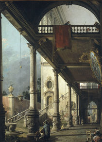 Canaletto, Capricio by AKG  Images