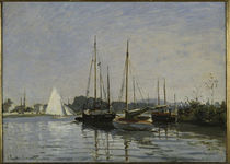 C.Monet, Freizeitboote bei Argenteuil by AKG  Images