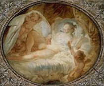 J.H.Fragonard, Feuer ans Pulver/1765-70 by AKG  Images