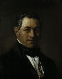 A.Menzel, Bildnis eines Herrn/ 1854 by AKG  Images