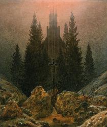 Friedrich/Das Kreuz im Gebirge/um 1812 by AKG  Images