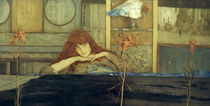 F.Khnopff, I look my door upon myself by AKG  Images