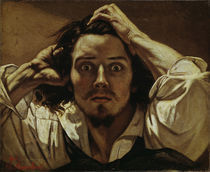 G. Courbet, Selbstbildnis 'Le Desespere' by AKG  Images