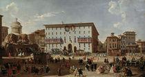 Rom, Piazza di Spagna / Gem.v.Pannini von AKG  Images