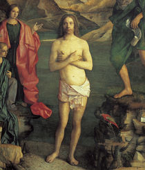 Giov.Bellini, Taufe Christi, Ausschn. by AKG  Images