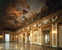 Florenz, Palazzo Medici, Galleria Ricc. by AKG  Images