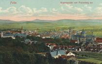 Fulda, Stadtansicht / Postkarte by AKG  Images