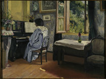 F.Vallotton, Dame am Klavier by AKG  Images