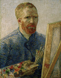 V.v.Gogh,Selbstbildnis,Staffelei/1888 by AKG  Images