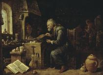 Der Alchimist / Gemaelde von Teniers by AKG  Images