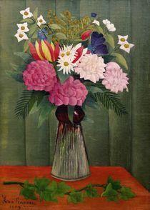 H.Rousseau, Blumenstrauss mit Efeuzweig von AKG  Images