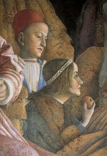 Lodovico u.Paola Gonzaga / Mantegna von AKG  Images