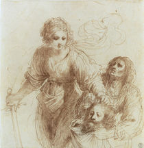 Guercino, Judith (Zeichnung) by AKG  Images