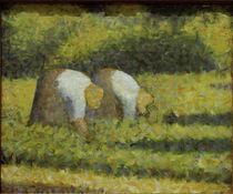 G.Seurat, Baeuerinnen bei der Arbeit by AKG  Images