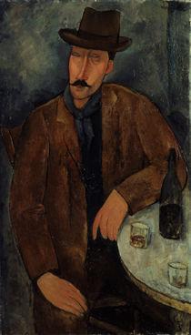 A.Modigliani, Mann mit Weinglas by AKG  Images
