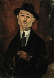 Paul Guillaume / Gem.v.Modigliani by AKG  Images