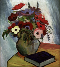 August Macke, Stilleben mit Anemonen by AKG  Images