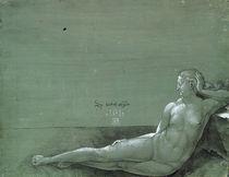 A.Duerer, Liegende nackte Frau / 1501 von AKG  Images