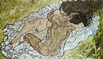 Egon Schiele, Umarmung von AKG  Images