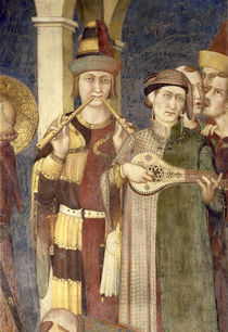 Simone Martini, Musikantengruppe by AKG  Images