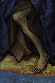 R.v.d.Weyden, Fuss des Johannes d. T. by AKG  Images