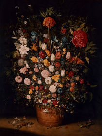 Jan Bruegel d.Ae./ Blumenstrauss/ um 1607 by AKG  Images