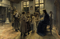 Fritz von Uhde, Lasset die Kindlein... von AKG  Images