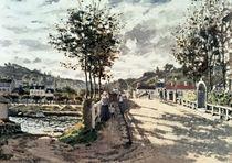 C.Monet, Die Bruecke von Bougival von AKG  Images