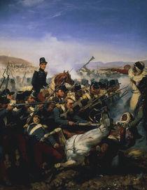 Schlacht bei Somah 1836 Gem.v. Vernet by AKG  Images