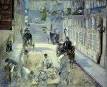 Manet/La Rue Mosnier aux paveurs/1878 by AKG  Images