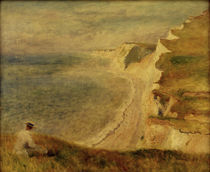 A.Renoir, Steilkueste bei Pourville by AKG  Images