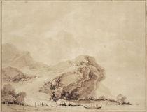 J.H.Fragonard, Kueste bei Genua by AKG  Images