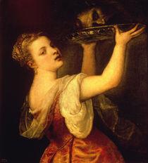 Tizian, Salome mit erhobener Schale von AKG  Images