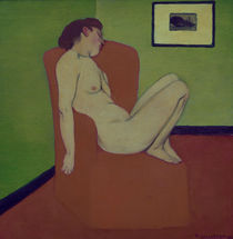 F.Vallotton, Nackte Frau auf Sessel by AKG  Images