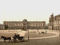 Dresden, Gemaeldegalerie /  Photochrom von AKG  Images