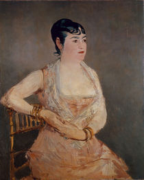 Manet/ La Dame rose (Mme Martin)/ 1881 by AKG  Images