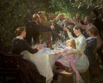 Kuenstlerfest bei M.u.A.Ancher/P.S.Kroeyer by AKG  Images