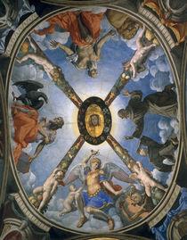 A.Bronzino, Dreifaltigkeit mit Heiligen von AKG  Images