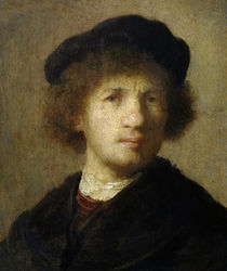 Rembrandt, Selbstbildnis um 1630 by AKG  Images