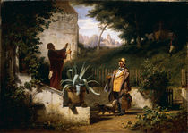 C.Spitzweg, Die Jugendfreunde/ um 1855 by AKG  Images