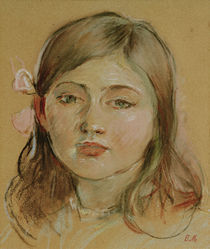 B.Morisot, Portraet von Julie by AKG  Images