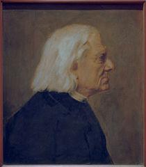 Franz Liszt / Gemaelde von Lenbach von AKG  Images